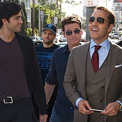 Entourage, the movie, says nothing about movies