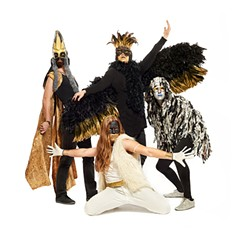 Best onstage psychedelic costume party