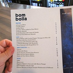 An important lesson about dining at Bom Bolla in Wicker Park