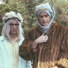 Fred Armisen and Bill Hader as Big and Little Vivvy on Documentary Now!