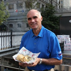 """Tommy Cvitanovich with """"the best single bite of food in New Orleans"""""""