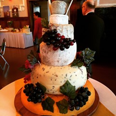 The cake, Great American Cheese Collection