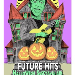 Herman Munster looks rather cheery on the gig poster of the week