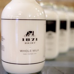 1871 Dairy's unhomogenized milk