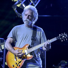 Bob Weir at Soldier Field over the summer