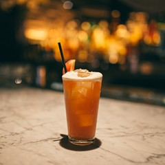 Sauerkraut shandy by Chris Kyles of STK Chicago