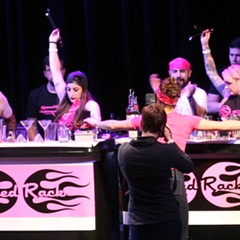 A Chicago newcomer wins this year's Speed Rack bartending competition