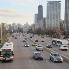 North Lake Shore Drive is due for a revamp. How public transit is prioritized is an open question.