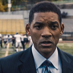 Will Smith stars as Dr. Bennet Omalu in Concussion.