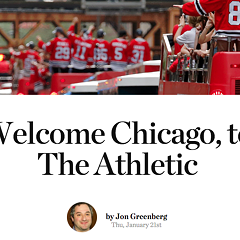 A new sports site launches in Chicago