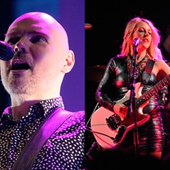 Smashing Pumpkins front man Billy Corgan and imminent tourmate Liz Phair