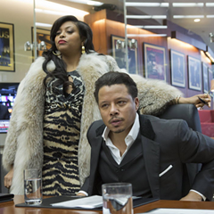 Taraji P. Henson and Terrence Howard star in Empire.