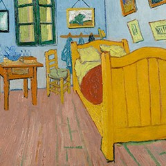 Cribs, Van Gogh edition at the Art Institute of Chicago