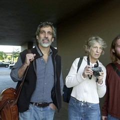 Jamie Kalven, left, pictured here with colleagues in 2002, has won a prestigious Polk Award.