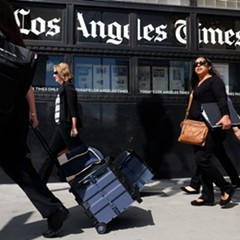 Entertainment coverage is the bedrock of the LA Times's identity.