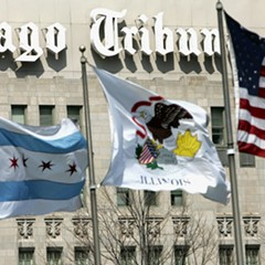 Bruce Dold now publisher as well as editor of the Chicago Tribune