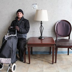 """Lugo resident Charles DeRolf, 58, has been living on disability payments since being hit by a truck a decade ago. """"I'd like to stay here,"""" he says. """"I feel like it's home."""""""
