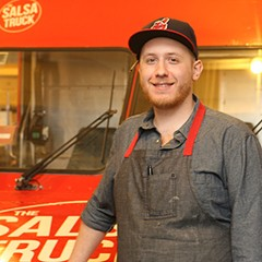 Dan Salls of the Salsa Truck and the Garage