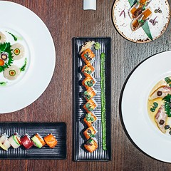 At Naoki, serious sushi from Lettuce Entertain You's sleeper agent