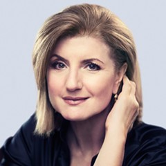 Arianna Huffington talks about her new book, The Sleep Revolution, on Thu 4/28 at Francis W. Parker School.