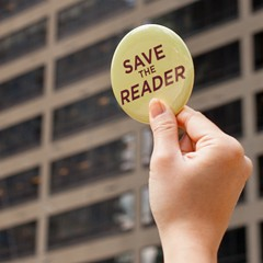 Don't think of the Reader's public appeal as a negotiating gimmick