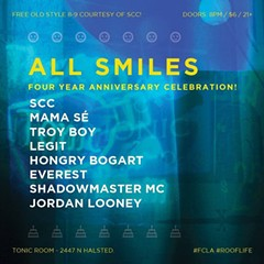 Chicago rapper Rich Jones on the fourth anniversary of his hip-hop showcase, All Smiles