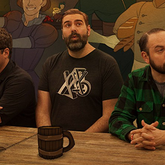 The improvised podcast Hello from the Magic Tavern is featured in this year's Chicago Improv Festival, which kicks off Mon 5/2.