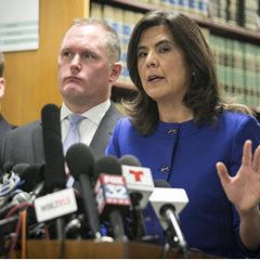 Cook County state's attorney Anita Alvarez describes the dash-cam video of the fatal shooting of 17-year-old Laquan McDonald by police officer Jason Van Dyke.