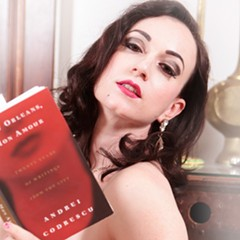 On Friday the 13th, Michelle L'amour and other performers read superstitious stories during a special edition of Naked Girls Reading.
