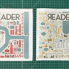 Behind the cover art of the Reader's Road Trips and Summer Guide issues