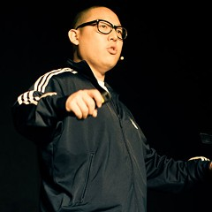 Rockstar chef Eddie Huang reads from his latest book, Double Cup Love, at the Chop Shop.