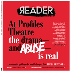 The Reader's Profiles Theatre investigation and follow-up coverage