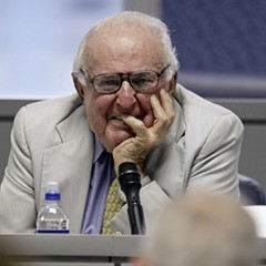 Abner Mikva, photographed in 2009