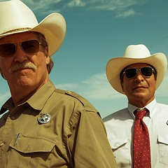 Hell or High Water takes place in the present, but it feels like the Great Depression
