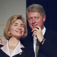 Hillary and Bill Clinton in 1994