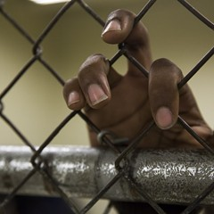 A detainee at Cook County Jail