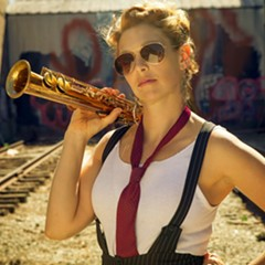 Aurora Nealand is one of several New Orleans-based players in the Instigation Orchestra.
