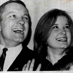 Valerie Percy in a 1964 file photo with her father, future U.S. senator Charles Percy