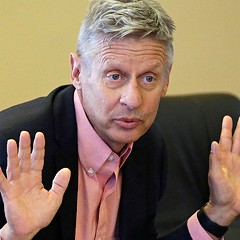 The Chicago Tribune's endorsement of Gary Johnson for president might be as cunning as it is ridiculous
