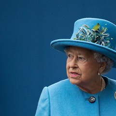 Queen Elizabeth II. Maybe it's not too late to rethink this whole independence thing.