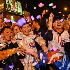 The Cubs' World Series magic temporarily transformed Wrigleyville from hellhole to happy place