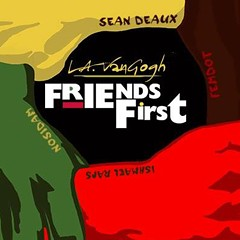 L.A. VanGogh helps his rapper pals help him on the new EP Friends First