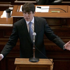 Illinois Governor Rod Blagojevich delivers his closing argument at his impeachment trial in 2009.