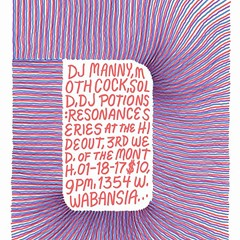 The gig poster of the week is swirling into infinity