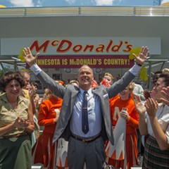Ray Kroc is a fast-food evangelist in The Founder