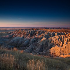 "Badlands National Park in South Dakota. The park's official Twitter feed ""went rogue"" this week."