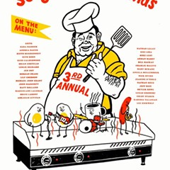 A supergroup is on the menu on the gig poster of the week