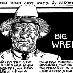 One-armed blues harpist Big John Wrencher tore up Maxwell Street for decades