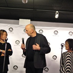 Obama Presidential Center architects Dina Griffin, Tod Williams, and Billie Tsien at the DuSable Museum