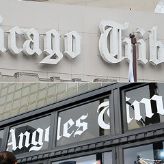 The Chicago Tribune likes Trump a lot more than the Los Angeles Times does